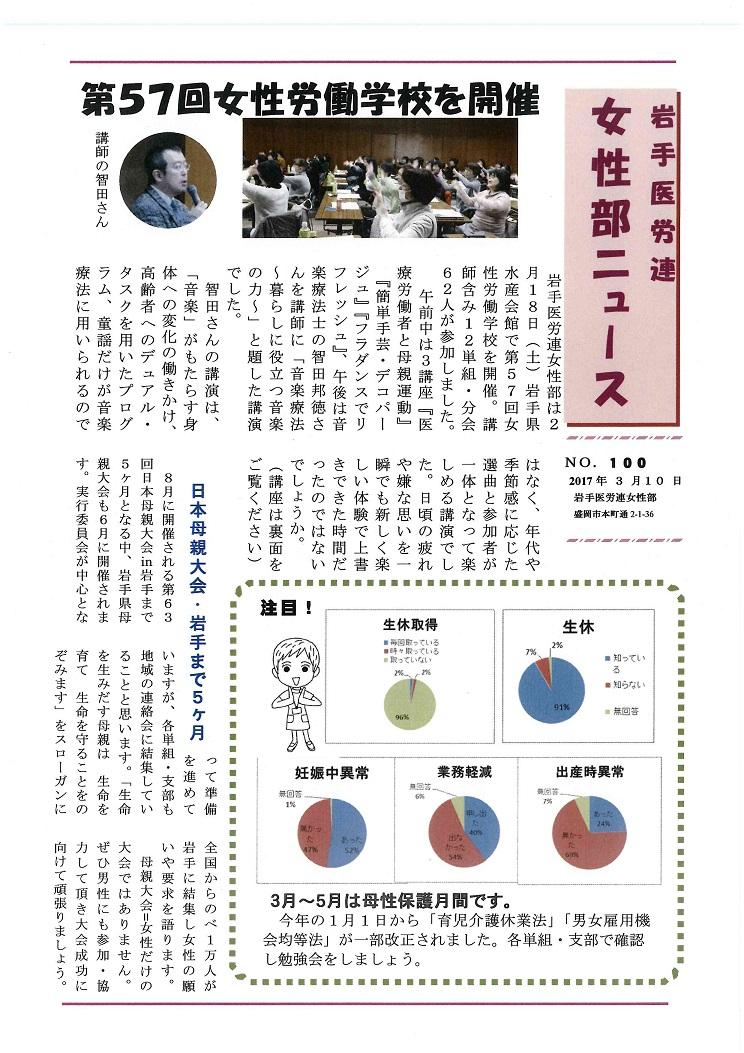 15岩手医労連女性部ニュース第100号2017.3.10_ページ_1.jpg